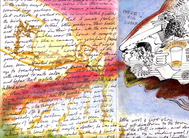Oaxaca Journal Page