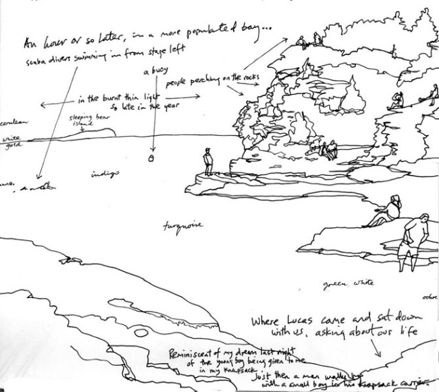 Georgian Bay Sketch - Oct 8
